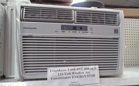 Frigidaire 8 000 Btu 350 Sq Ft 115 Volt Window Air
