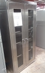 Sandusky Stainless Clear View Cabinet