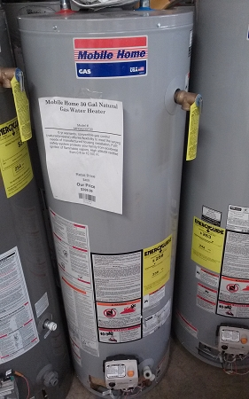 Mobile Home 30 Gal Natural Gas Water Heater