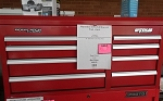 WATERLOO 41 INCH 8 DRAWER TOOL CHEST MD# PCH-418RD
