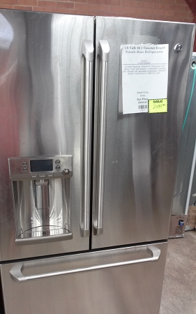 GE Cafe 221 Counter Depth French Door Refrigerator