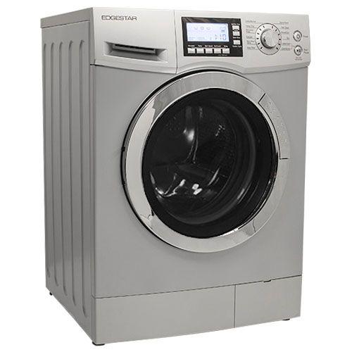 Edgestar 2 0 Cu Ft Ventless Silver Washer Dryer Combo