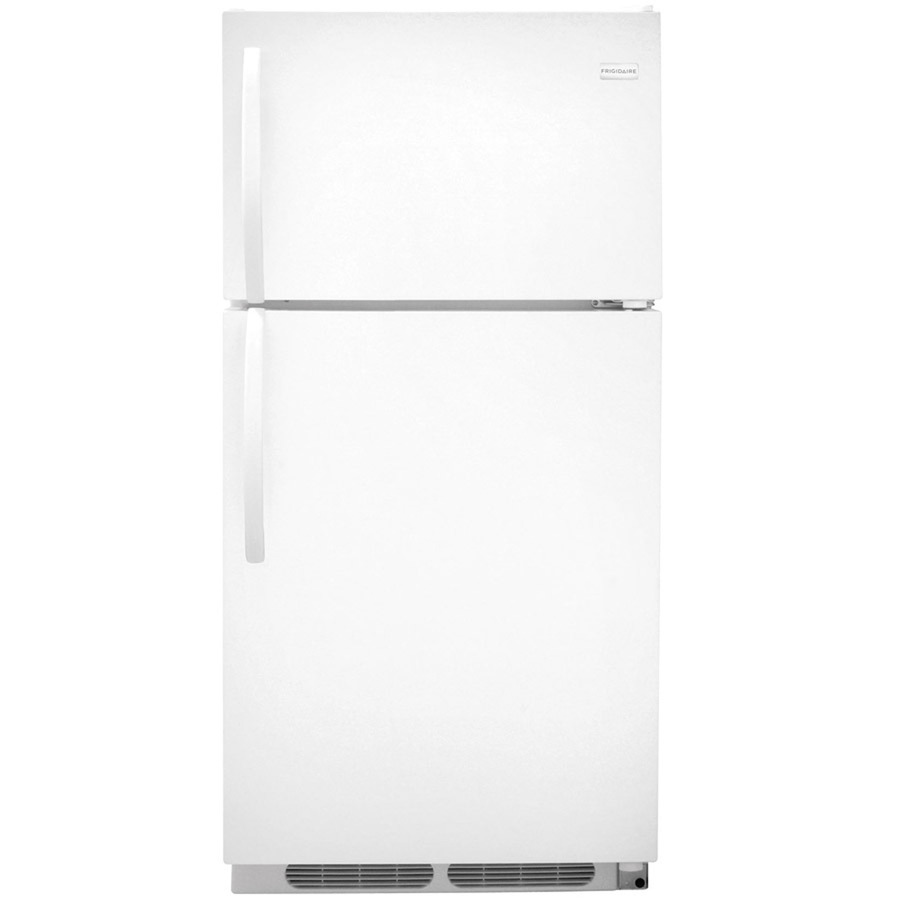 frigidaire 14 6 cu ft top freezer refrigerator. Black Bedroom Furniture Sets. Home Design Ideas