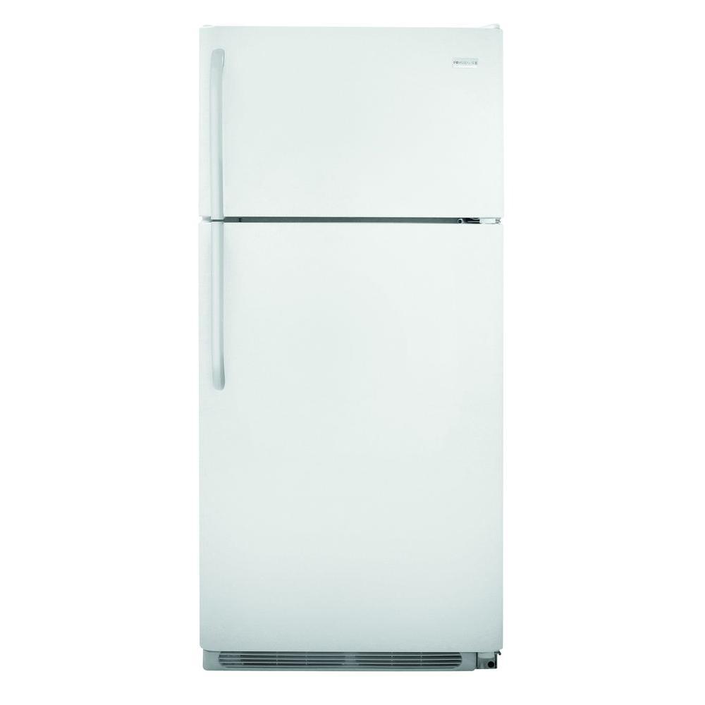 frigidaire 18 cu ft top freezer refrigerator. Black Bedroom Furniture Sets. Home Design Ideas