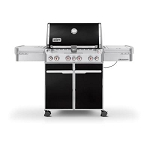 WEBER SUMMIT E-470 4 BURNER  LP GRILL MD# 7171001