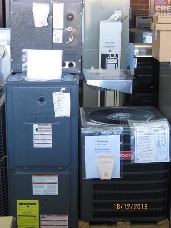 Goodman 1 5 Ac W Gas Furnace 40k Btu And 2 Ton Coil Md