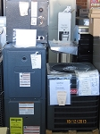 GOODMAN 1.5 AC w/ Gas Furnace 40K btu and 2 ton coil MD# GSC130181FA