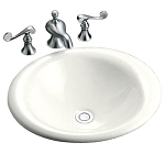 KOHLER Iron Bell Bathroom Sink MD# K2804-0