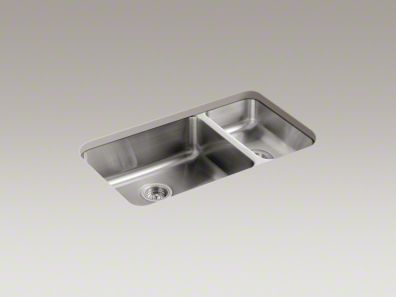 KOHLER Undertone high/low double Sink MD# K3352