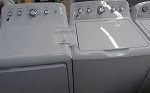 GE 4.2 Cu FT Washer and GE 7.2 Dryer Set