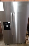 Whirlpool 25 Cu Ft Side By Side Refrigerator