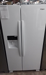 Whrilpool 25 Cu Ft Side By Side Refrigerator in White