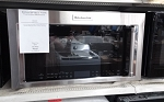 Kitchen Aid 1.9 Cu Ft OTR Convection Microwave