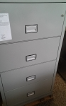Phoenix Safe Vertical Fire File Cabinet