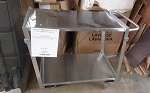 Durham Mfg Stainless Steel Cart 1200 LB Capacity