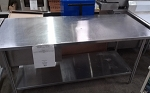 Commerical Stainless Steel Work Table 72x30