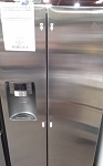 Samsung 25.5 Cu Ft Side By Side Refrigerator **USED**