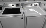 Samsung 4.5 Cu Ft Washer and 7.4 GAS Dryer