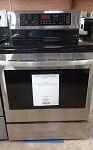 LG 6.3 Cu Ft Smooth Top Range
