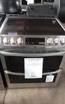 LG Smart Dbl Oven Electric Smooth Top Range