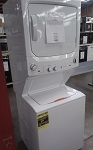 GE 3.8 Cu Ft Washer and 5.9 Cu Ft Dryer Unitized