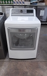 LG  7.3 Cu Ft Dryer With Steam