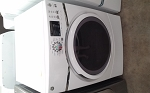 GE 7.5 Cu Ft GAS Dryer With Steam