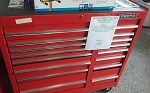 PROTO 41 INCH 15 DRAWER TOOL CHEST MD# J444142-15RD