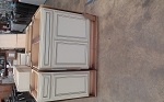 Marsh Brunswick 1 Birch Ivory Chocolate Cabinets