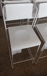 Killiam *Set of 2* Mixed Material Sled Counter Stool