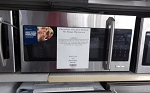 Elecroloux IQ 1.5 Cu Ft Over The Range Microwave