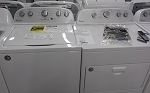 Whirlpool 3.5 Cu Ft Washer and 7.0 Cu Ft Dryer with Steam