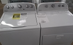 Whirlpool 3.5 Cu Ft Washer and 7.0 Dryer With Steam Set