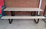 Made to order picnic tables 6 or 8 ft