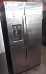 GE 25.4 Cu Ft Side By Side Refrigerator