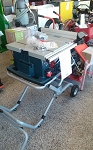 Bosch 10 Inch Worksite Table Saw W stand
