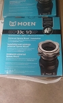 Moen Pro Series 1/3 HP Garbage Disposal