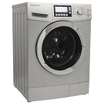 Edgestar 2.0 Cu Ft Ventless Silver Washer/Dryer Combo