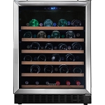 Frigidaire 46 Bottle Stainless Wine Cooler