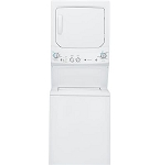 GE Unitized 3.2 Cu Ft Washer and 5.9 Cu Ft Dryer