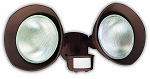 Designers Edge Motion activated Flood light bronze