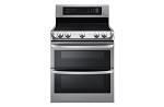 LG Smooth Top Double Oven Convection Range