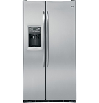 GE Profile 24.6 Cu Ft Counter Depth Stainless Steel Refrigerator