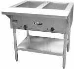 Adcraft 2 Bay Open Well Steam Table