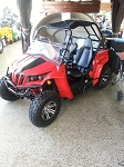 Applestone UTV 150 CC 2 Seater RED