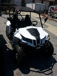 Applestone UTV 150 CC 2 Seater WHITE