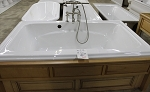 American Standard tub with base