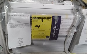 GE 10,100 BTU Window AC