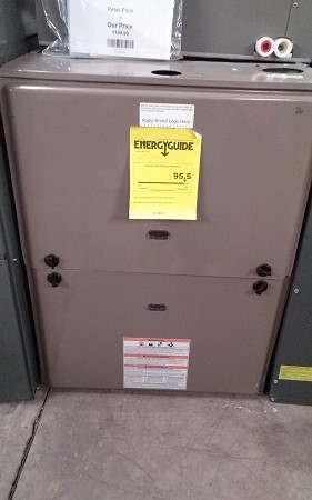 York 95% 120,000 BTU Natural Gas Furnace