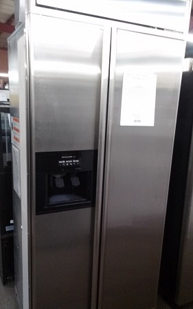 "USED 36"" Built in Kitchen aid Refrigerator"